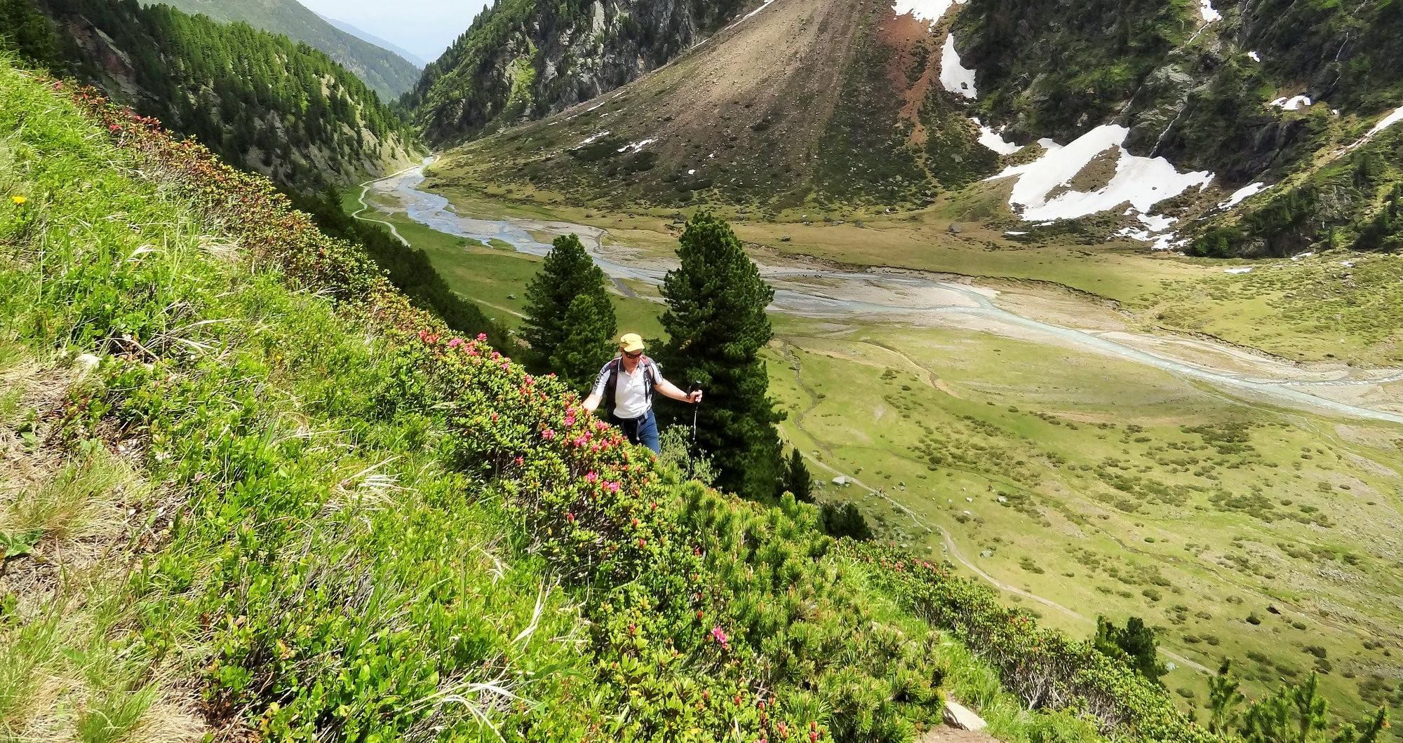 Hicking to the Sulzenau hut