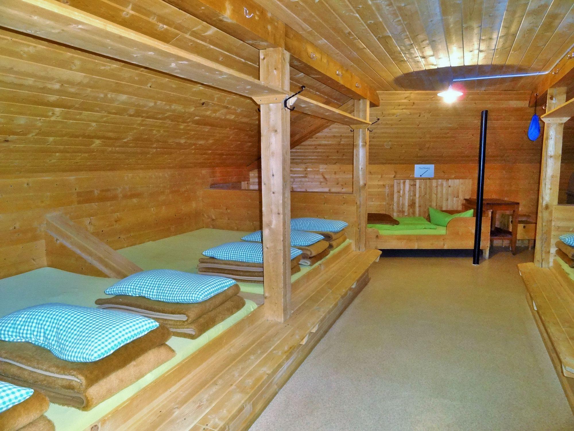 Matrazenlager der Sulzenahütte