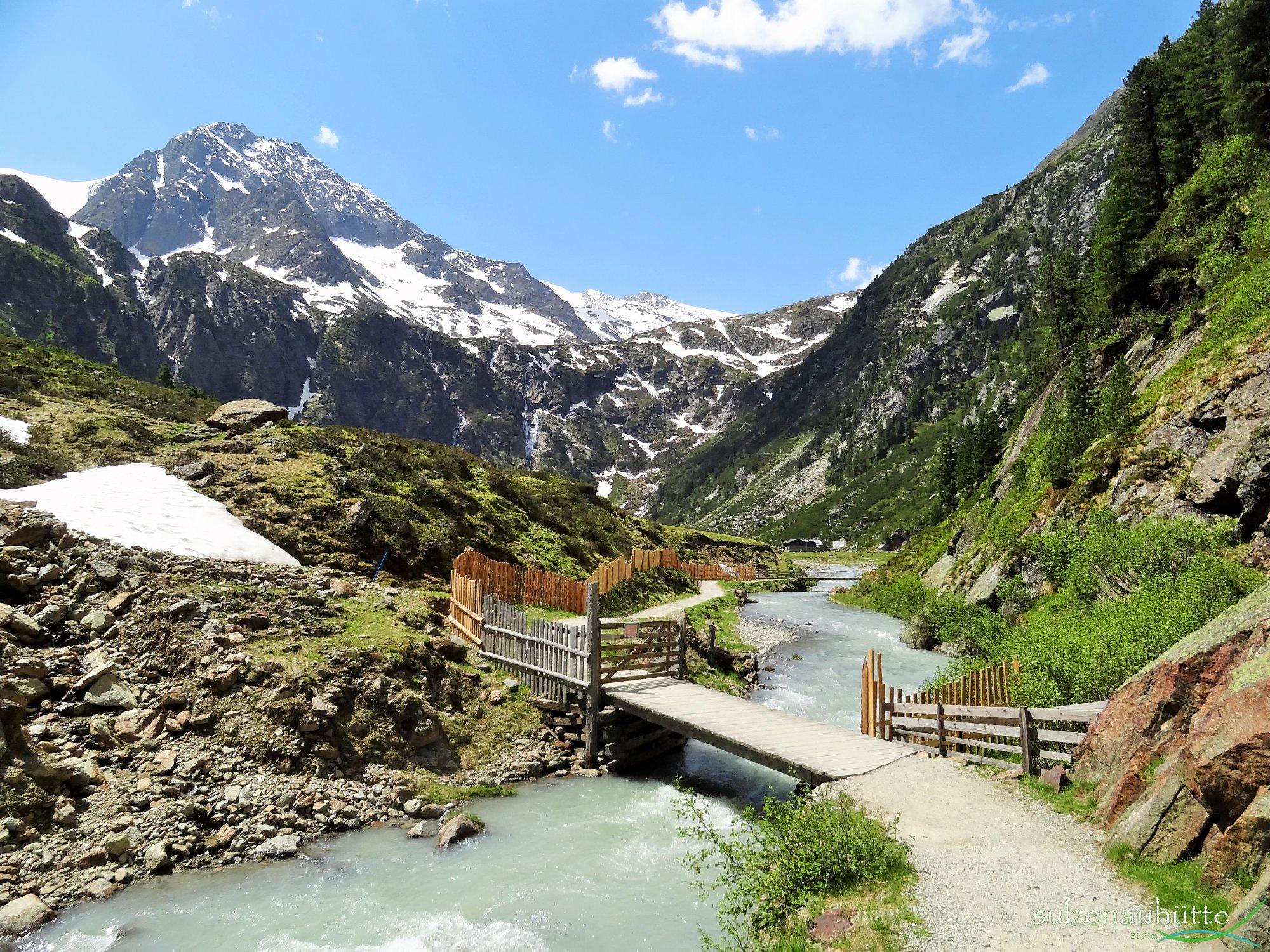 Stubaier Höhenweg, Sulzenauhütte, WildeWasserWeg