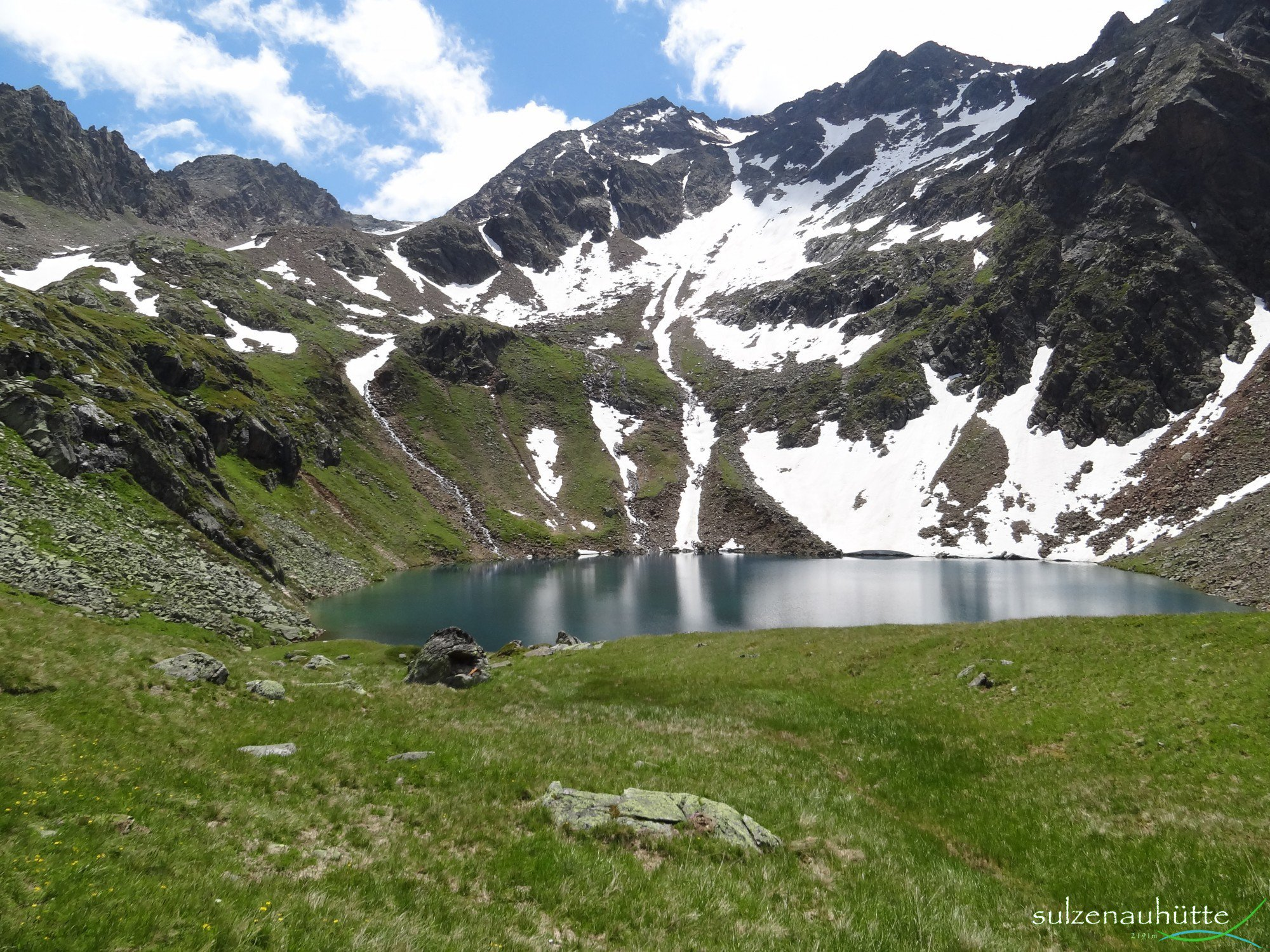 Stubaier Höhenweg - Grünausee