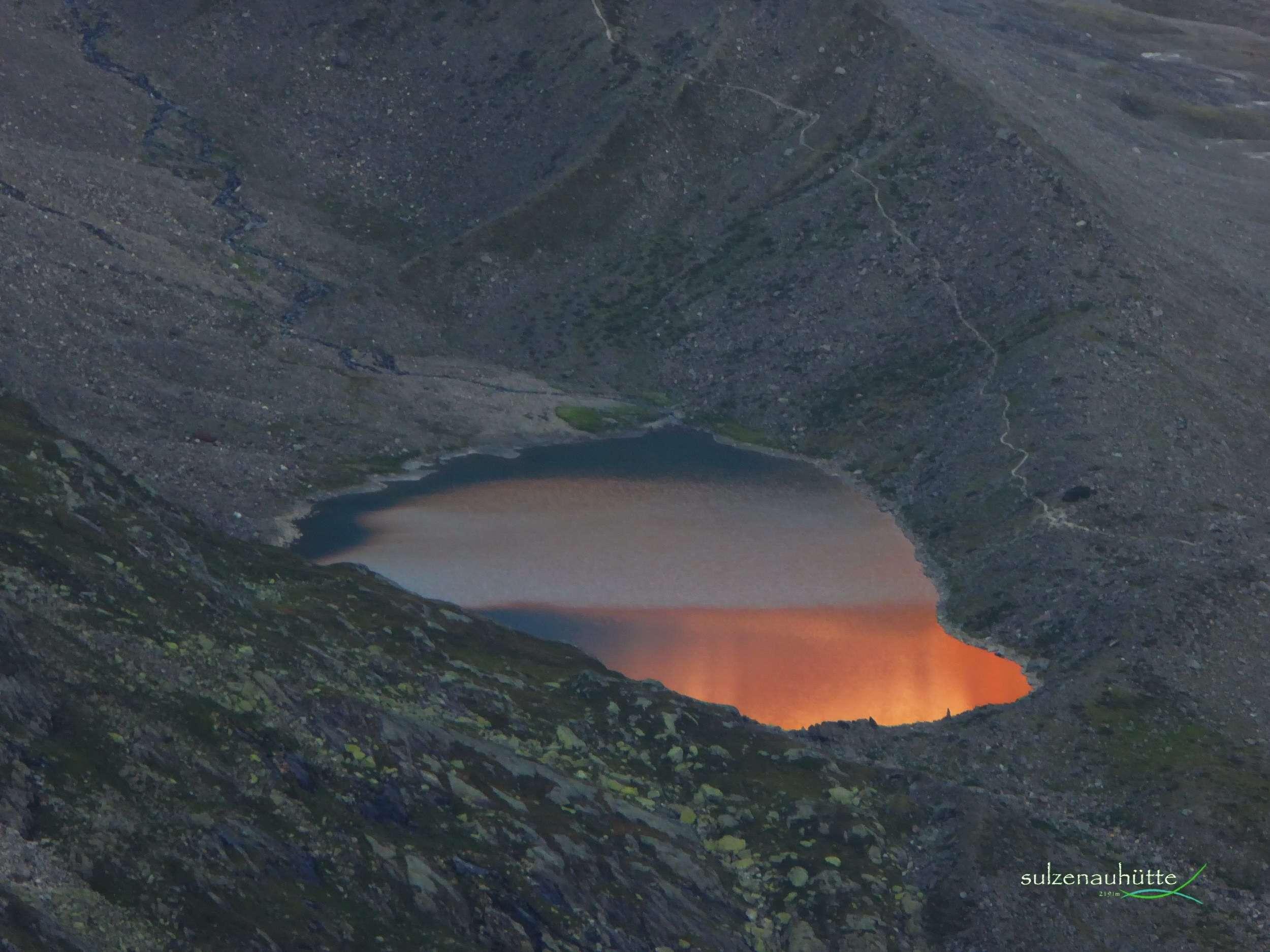 Blue Lake before sunrise