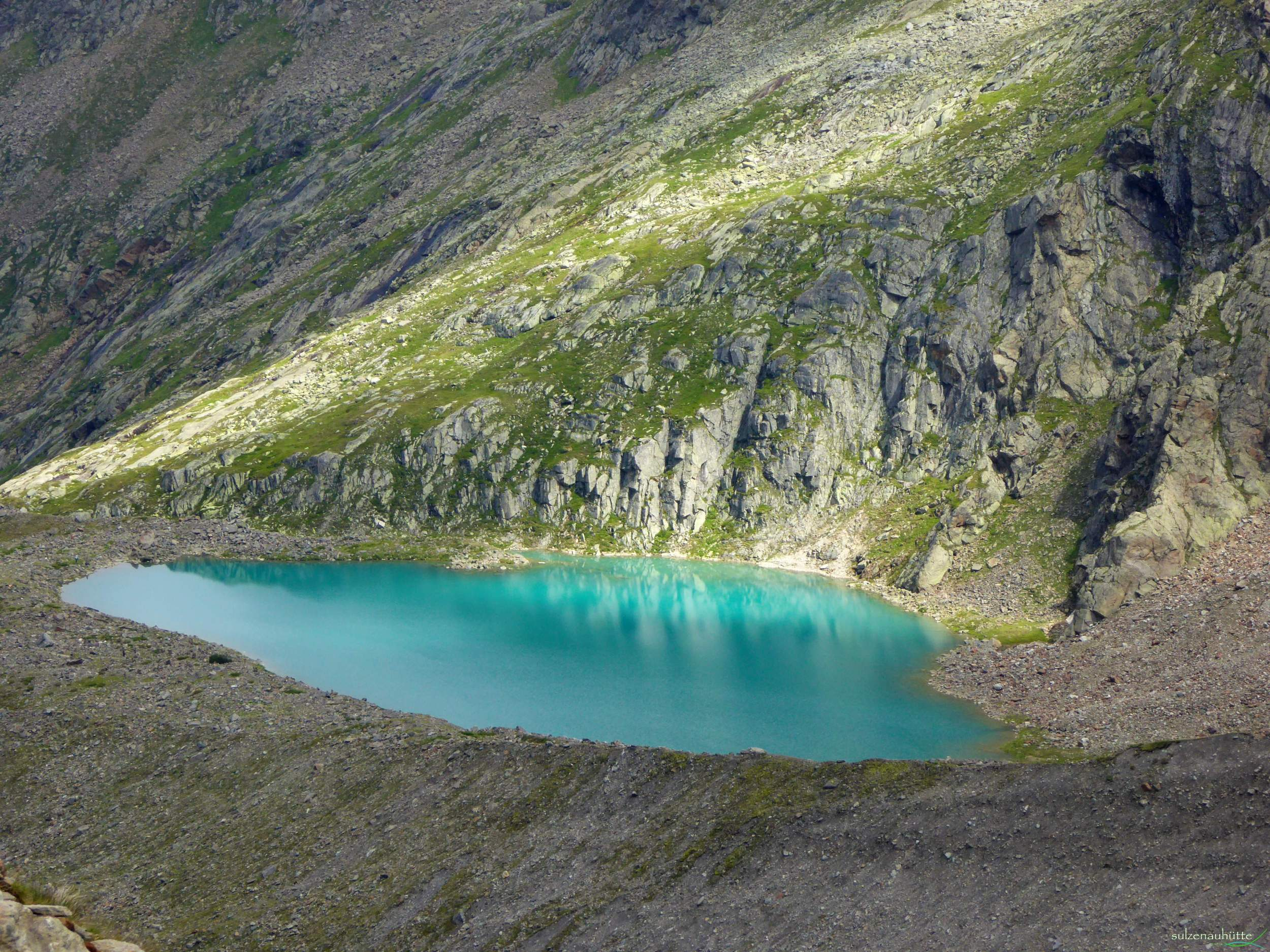 Blue Lake - Stubai High Trail
