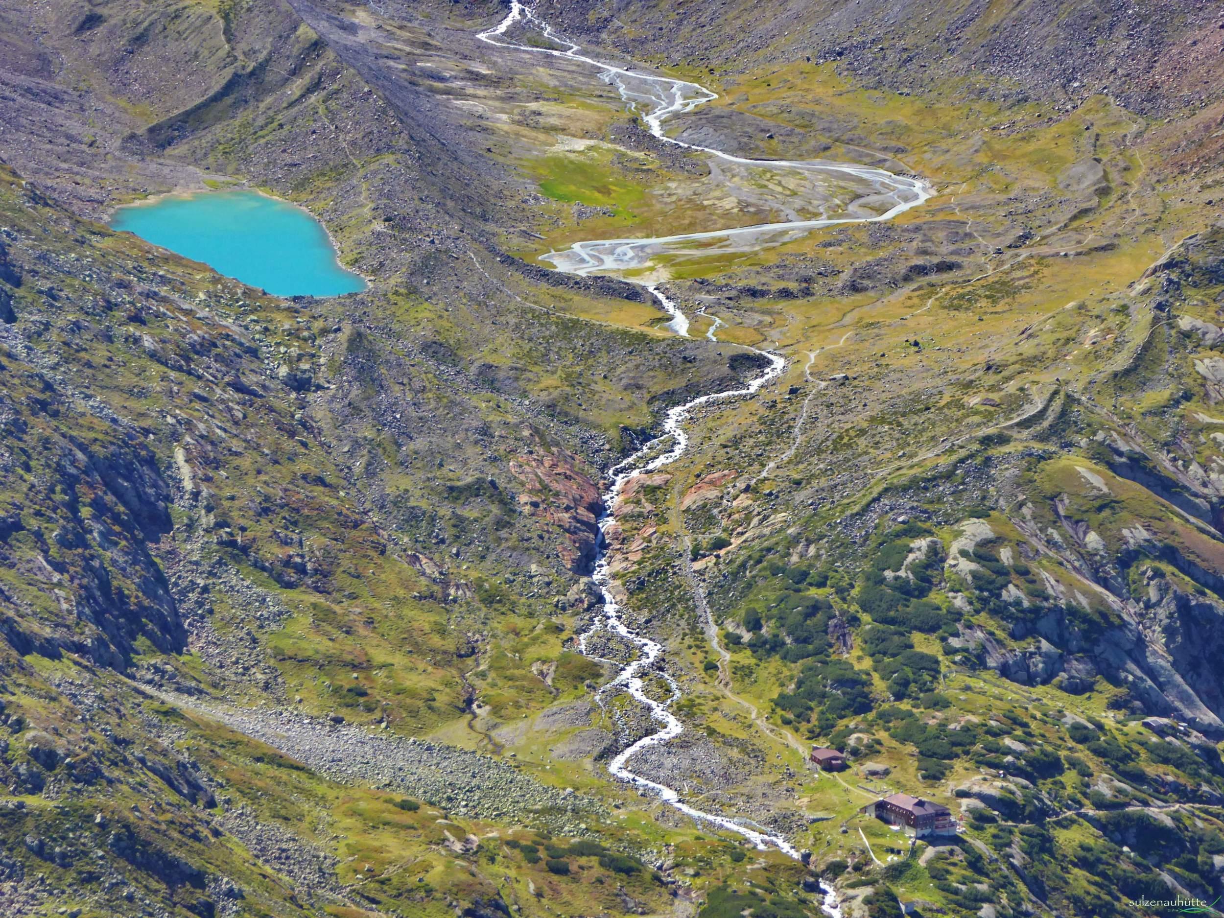 Blaue Lacke - Sulzenauhütte - Stubaier Höhenweg