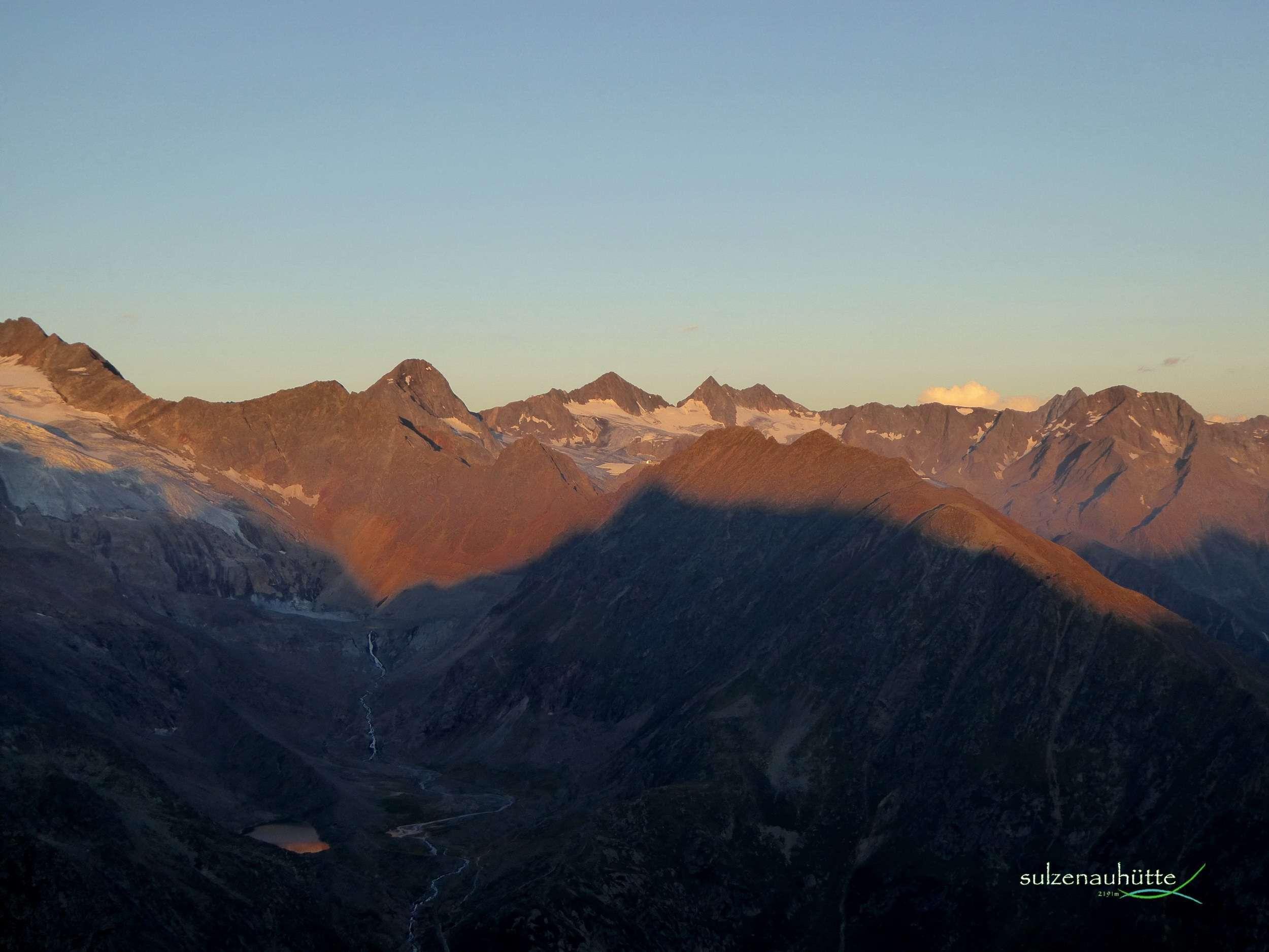 Grosser Trögler bei Sonnenaufgang