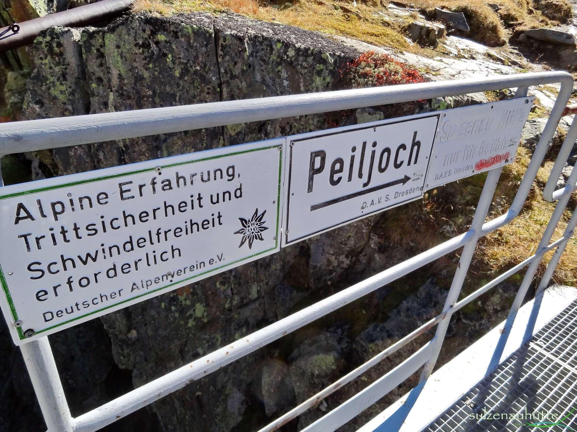 Peiljoch Route - Stubaier Höhenweg