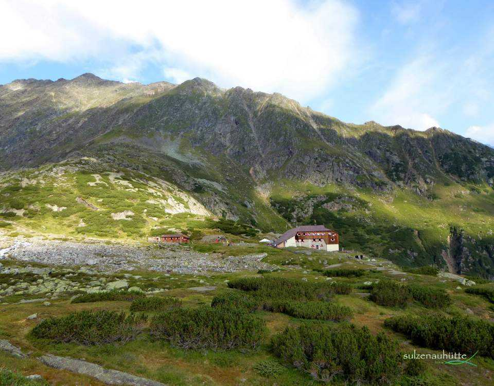 Sulzenau hut - Stubai High Trail