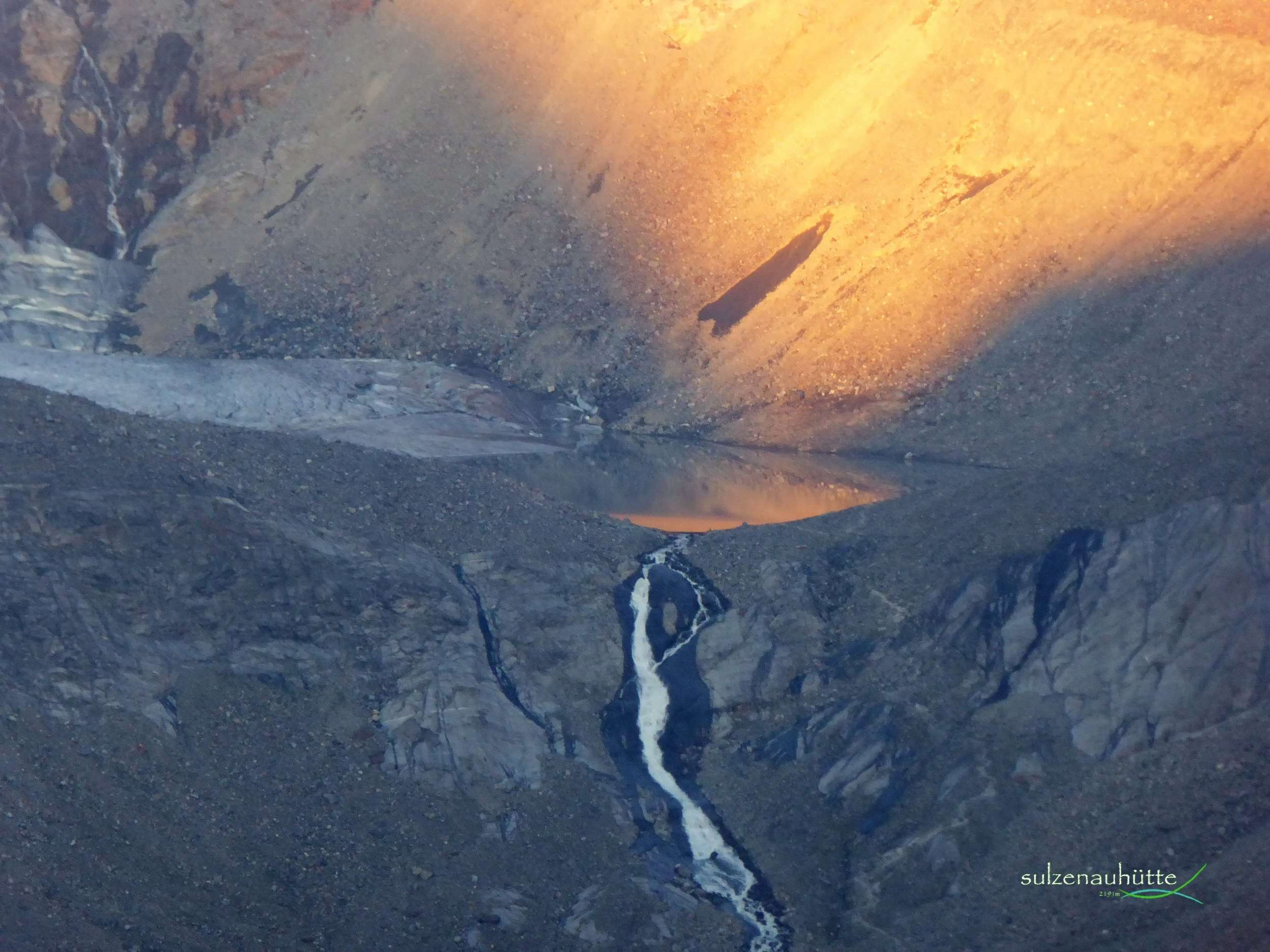 Sulzenausee vor Sonnenaufgang