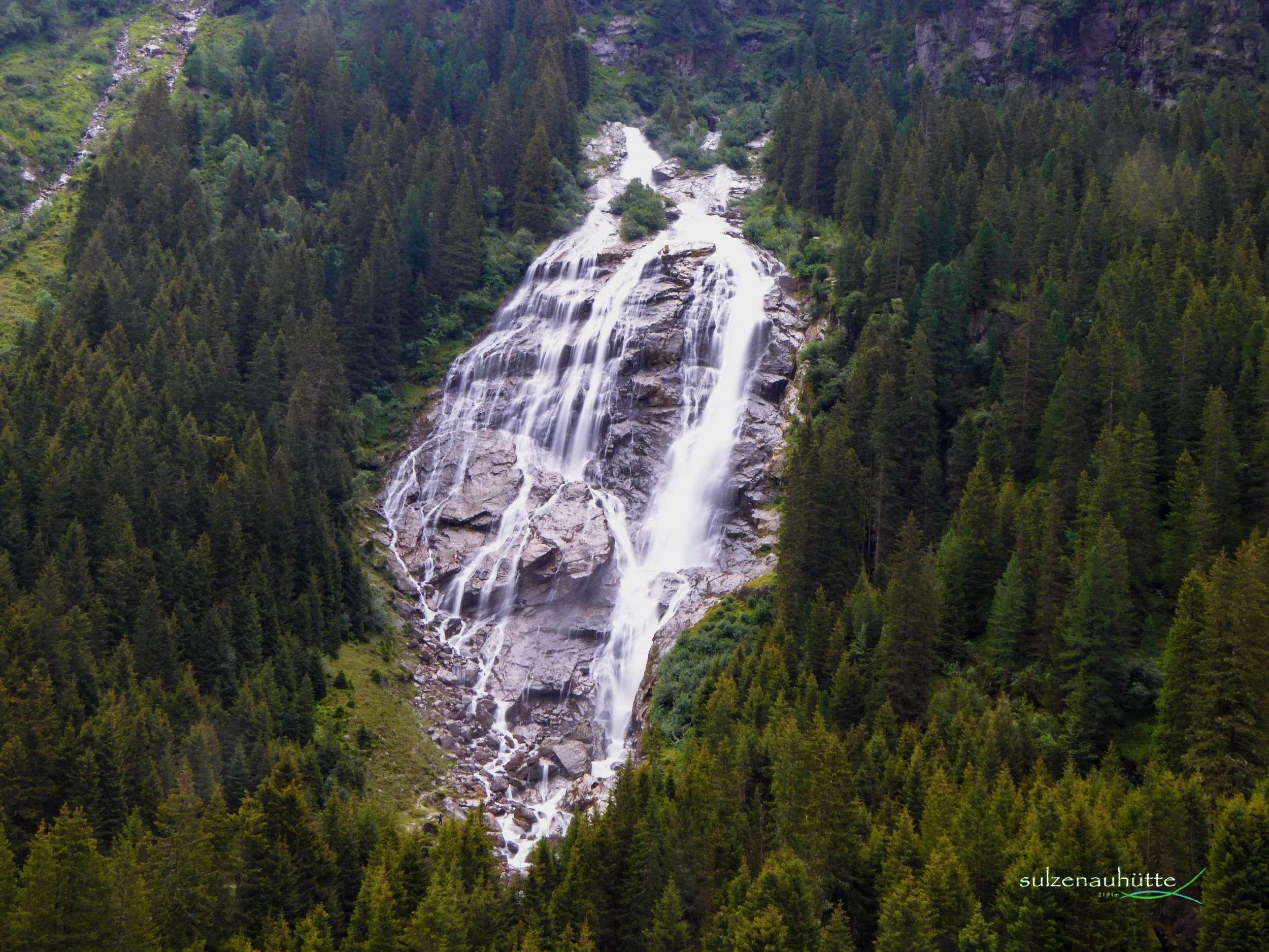 Grawa Wasserfall - WildeWasserWeg