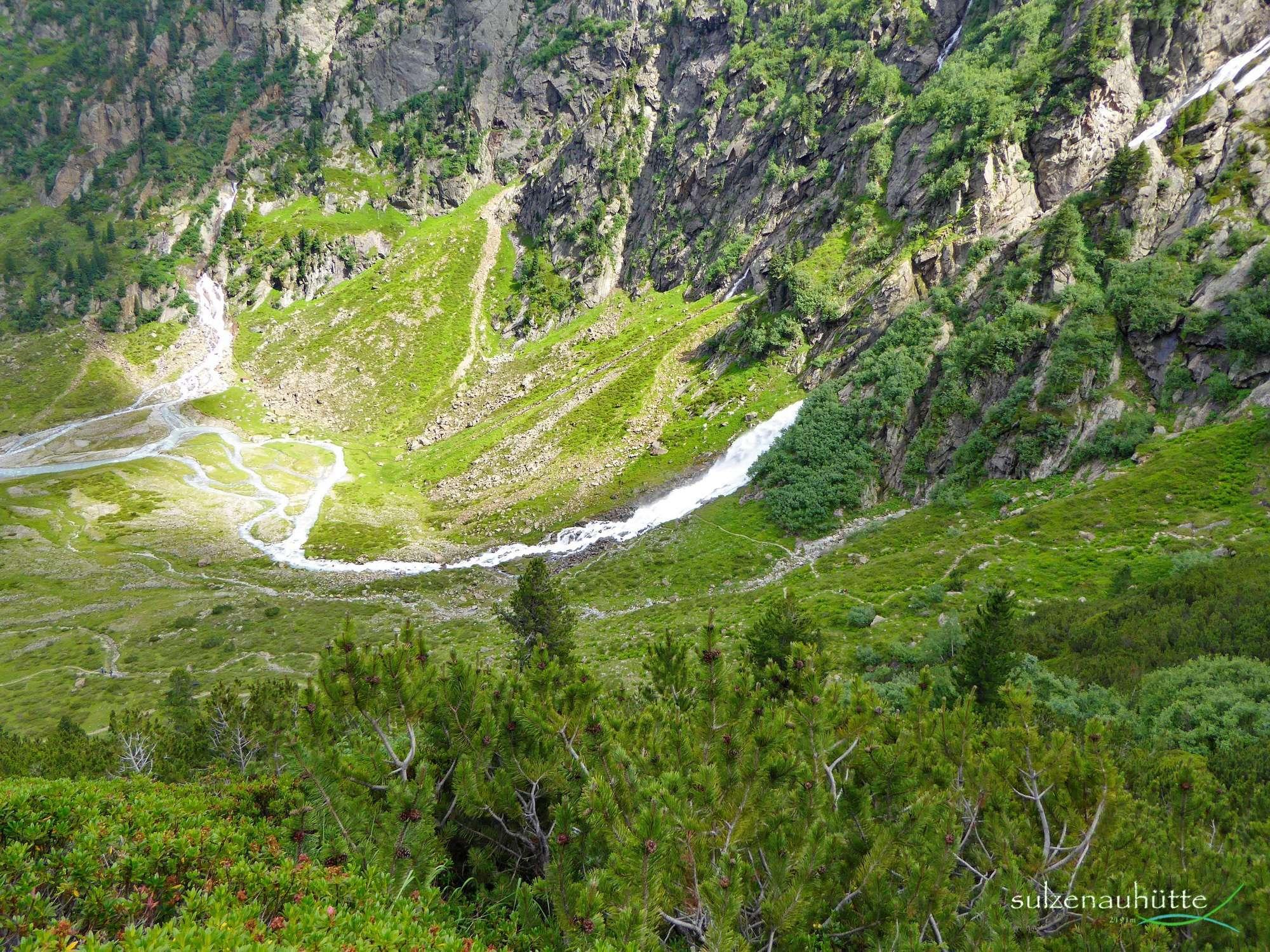 WildeWasserWeg Sulzenau Wasserfall