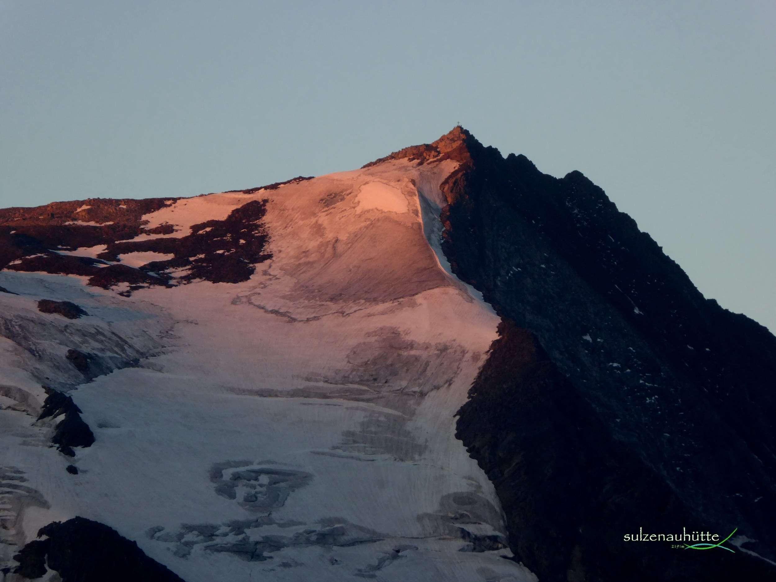 Wilder Freiger bei Sonnenaufgang